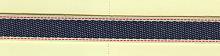 Тесьма декоративная MATSA джинс, 13 мм