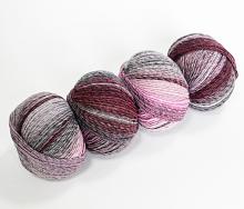 Бум 35581 - розово-серый микс
