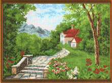Рисунок на канве 37х49см арт.683
