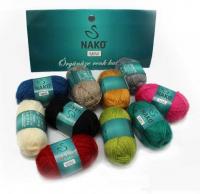 Наборы пряжи Nako Mini