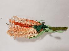 Букет цветов мелких оранжевый
