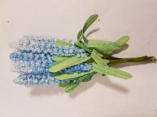 Букет цветов мелких голубой