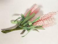 Букет цветов мелких коралл