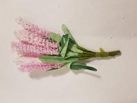 Букет цветов мелких розовый