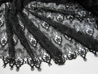 Кружево черное, дизайн DOLCE&GABBANA