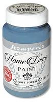 """Краска для домашнего декора на меловой основе """"Home Deco"""" голубая, 110 мл"""