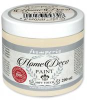 """Краска для домашнего декора на меловой основе """"Home Deco"""" теплый белый, 200 мл"""