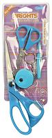 Ножницы голубые в наборе со швейными аксессуарами