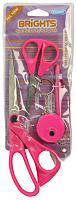 Ножницы ярко-розовые в наборе со швейными аксессуарами