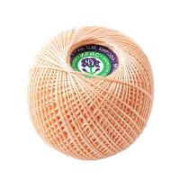 Пряжа Ирис, 100% хлопок 25гр. 0602 розово-кремовый