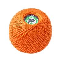 Пряжа Ирис, 100% хлопок 25гр. 0710 оранжевый