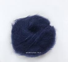 Силк Мохер (SILK MOHAIR) 6035 темно-синий