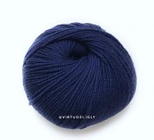Lana Gatto Миди Софт 13856 глубокий синий