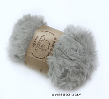 Пряжа Fancy fur (Фанси фе), цвет 08 серый