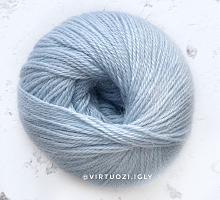 Альпака Силк (Alpaca Silk) 4995 небесно-голубой
