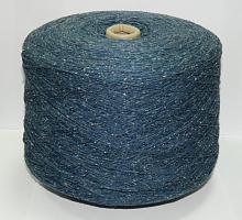 Вупасс (Wopase) (55% меринос, 20% шёлк, 25% полиамид 100гр/220м) 9687 - синий джинс