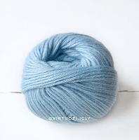 Пряжа Натика (Natica), цвет 2528 небесно-голубой