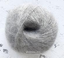 Пряжа Baby Suri (Беби Сури), цвет 1915 серый