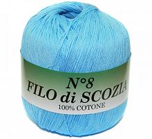 Filo Di Scozia №8 (Фило Ди Скозиа №8 - 64 турецкая бирюза