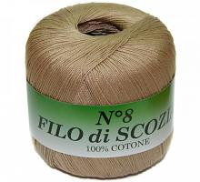 Filo Di Scozia №8 (Фило Ди Скозиа №8 - 78 песочный