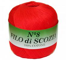 Filo Di Scozia №8 (Фило Ди Скозиа №8 - 18 ярко красный