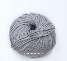 Пряжа Фулл (Full) 302 средне-серый