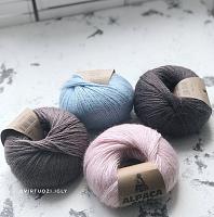 Пряжа Альпака Силк (Alpaca Silk)
