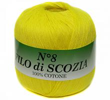 Filo Di Scozia №8 (Фило Ди Скозиа №8 - 37 ярко желтый