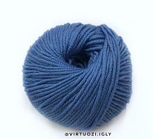 Долли 125 (Dolly 125) Laines Du Nord 908 синий пепел