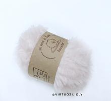 Пряжа Fancy fur (Фанси фе), цвет 85 розовая дымка