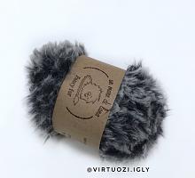 Пряжа Fancy fur (Фанси фе), цвет 783 серо-синий