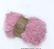 Пряжа Fancy fur (Фанси фе), цвет 163 розовый