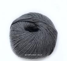 Lana Gatto Миди Софт 20742 серый темный