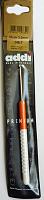 Крючок, вязальный с пластиковой ручкой, №3, 15 см