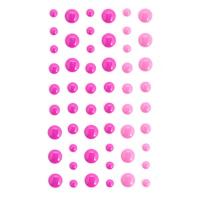 Клеевые элементы розовая гамма 54 шт
