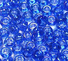 Бисер прозрачный радужный 31050