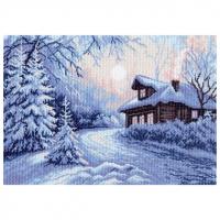 """Рисунок на канве 37х49см арт.1356 """"Мороз"""""""