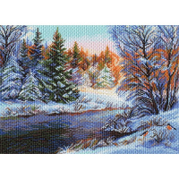 "Рисунок на канве 37х49см арт.1524 ""Мороз и солнце"""
