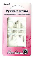 Иглы ручные для вышивания с острым кончиком, №9, 16 шт