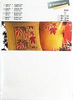 Канва в упаковке Aida 14 ct, 48 x 73 см, цвет №100 белый/white