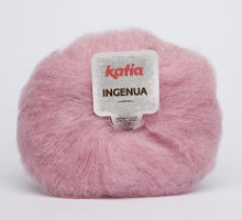 Мохер INGENUA (Ингения) цвет 51 розовый