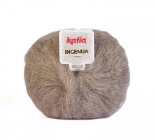 Мохер INGENUA (Ингения) цвет 42 светло-серый