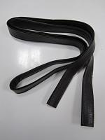 Ручка сумочная плоская коричневая, 190см
