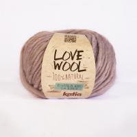 Пряжа Love Wool, цвет 109 пыльная роза