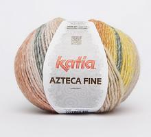 Пряжа Azteca Fine  (Ацтека Файн) 215 бежевый-оранжевый-горчичный-бордовый