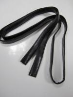 Ручка сумочная плоская черная, 190см
