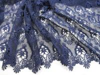 Кружево темно-синее, дизайн DOLCE&GABBANA