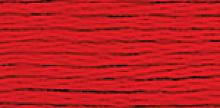 """НИТКИ МУЛИНЕ """"Gamma"""" ДЛЯ ВЫШИВАНИЯ, №0024 т.красный , х/б 8 м"""