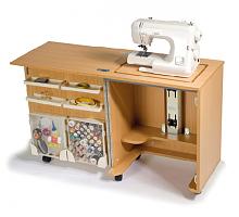Стол раскладной для швейной машины COMPACT, бук