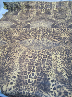 Кожа натуральная сумочная леопард